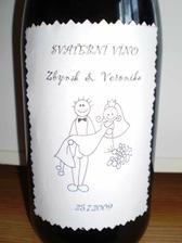 svatební vínko (ještě si s tím pohraju)