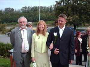 ženich s rodiči
