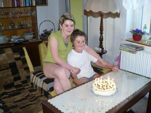 Léto 2008 - já s mym mladším bráchou