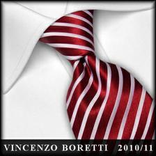 Kravata pro ženicha i s bílou košilí