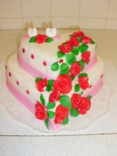 kolač pro nevěstu