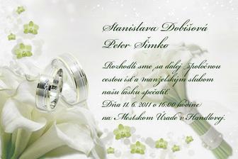 aaaaaaa naše svadobne oznamenia:-)