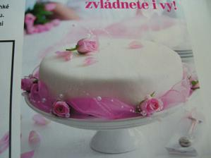 změna dortu :-) jen bude do fialova a s kalou :-)