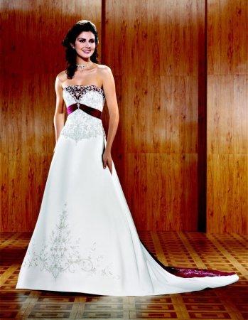 Krááásne červeno-biele šaty - Obrázok č. 5
