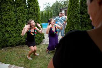 Překvapení pro novomanžela - tanec se svědkyní :)