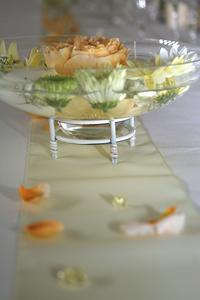 Vysnivana svadba - Dekoracia na stol