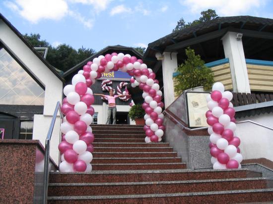 MY WEDDING IDEAS - balonova brana