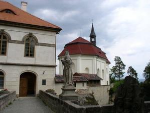 kaple na hradě Valdštejn