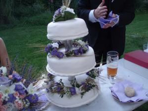 náš úžasný dort