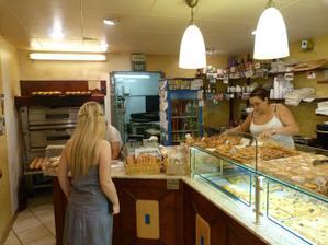 při nákupu v místní boulangerii :)