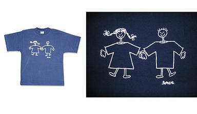 trička na společnou rozlučku se svobodou a před tím ještě každý sám