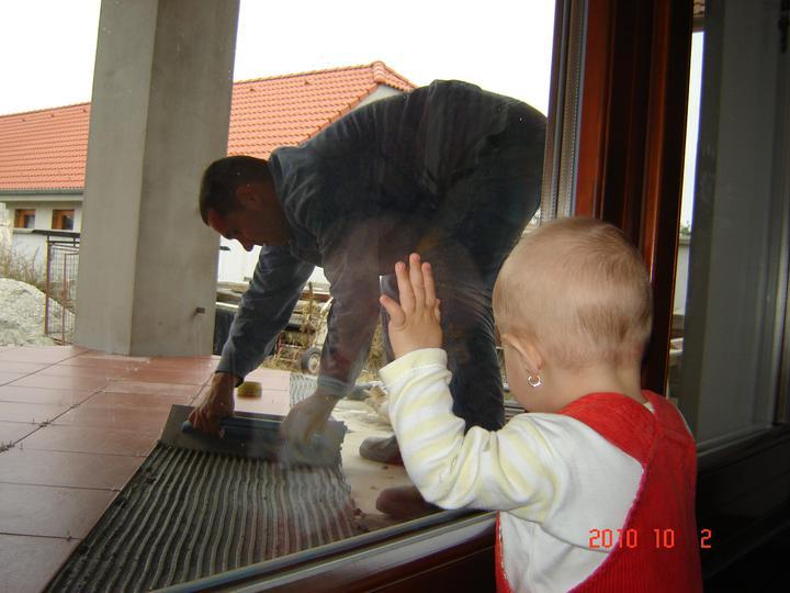 20.júla 2008 sme sa nastahovali do nasho domceka - vzadu na terase
