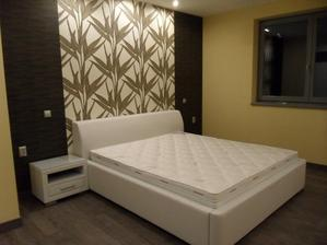 .... asi takto , len s našou posteľou :) tapety dorazili a sú prekrásne :) už len začať :)