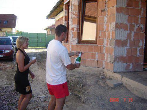 20.júla 2008 sme sa nastahovali do nasho domceka - krstenie domu 19.júl.2008