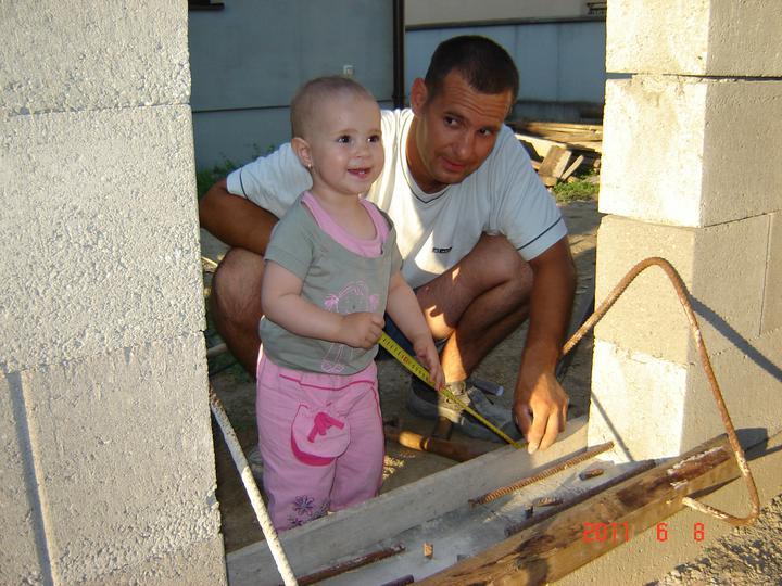 20.júla 2008 sme sa nastahovali do nasho domceka - treba všetko presne odmerať :)