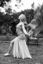 Odpoledne nám přišla zatancovat břišní tanečnice Maya