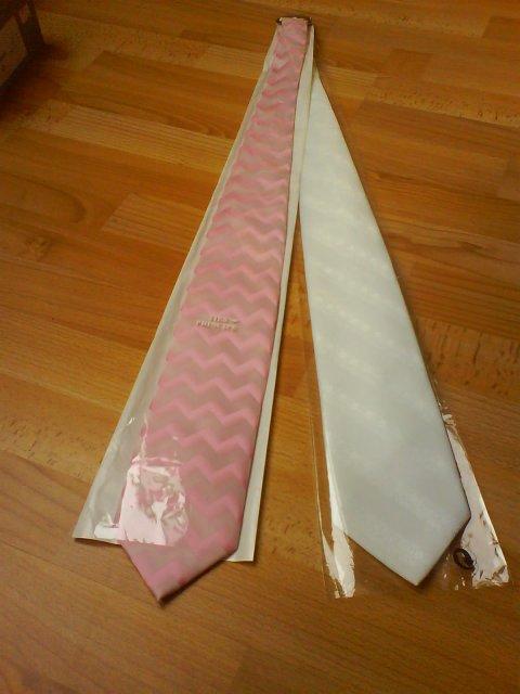 Naša predsvadobná príprava - svadobná a popolnočná kravata