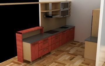 naše budoucí kuchyň..