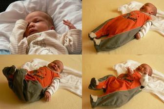 A skoro do roka a do dne.. :-) 2.7.2008 se nám narodil Martínek, 49cm a 3680g. Je to náš poklad.