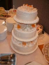 svadobná torta.... :-) mňam