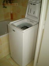 Ještě pračka a koupelna je hotová :-)