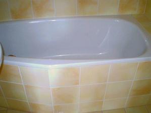 Poslední fotka koupelny, s tou se mi loučí docela těžko, je stále jako nová...