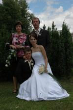 ... s rodiči nevěsty ....