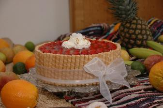 vynikající dort ... mňam  :-)))