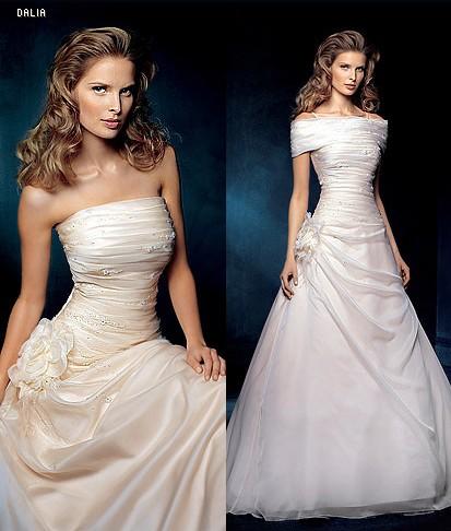 Predstavy a skutočnosť - tieto šaty som mala pôvodne mať, ale nakoniec som s nimi nebola spokojna...