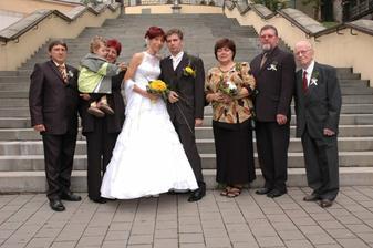 s rodiči a nejbližší rodinou