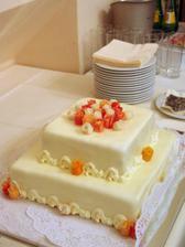 tak takový byl náš dortík - vynikající!