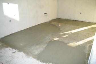 dorovnávame podlahu pod podlahové kúrenie