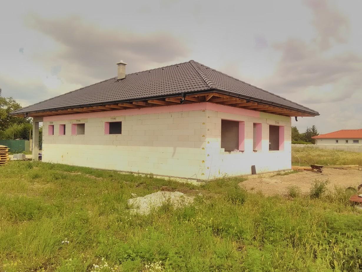 Väzníková strecha na kľúč s krytinou Terran Danubia EVO Carbon Štvrtok na Ostrove okr. Dunajská Streda - Obrázok č. 4