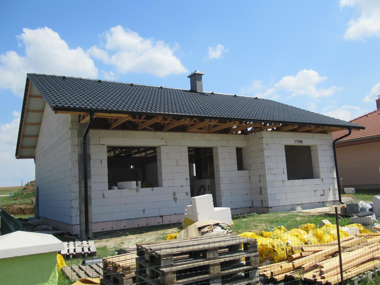 Väzníková strecha na kľúč s krytinou Bramac Klasik Protector Melek okr. Nitra - Obrázok č. 2