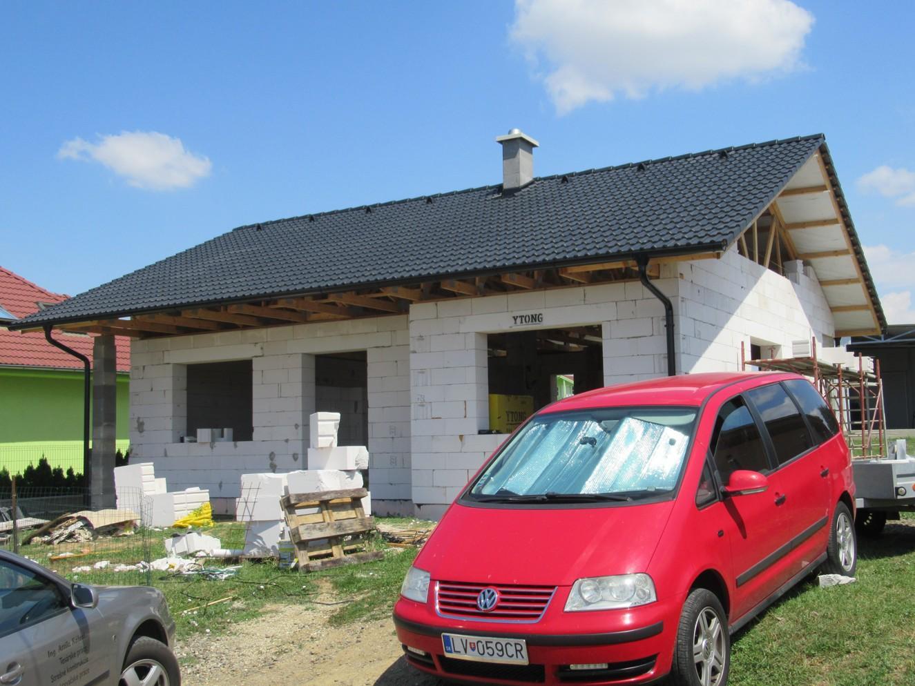 Väzníková strecha na kľúč s krytinou Bramac Klasik Protector Melek okr. Nitra - Obrázok č. 3