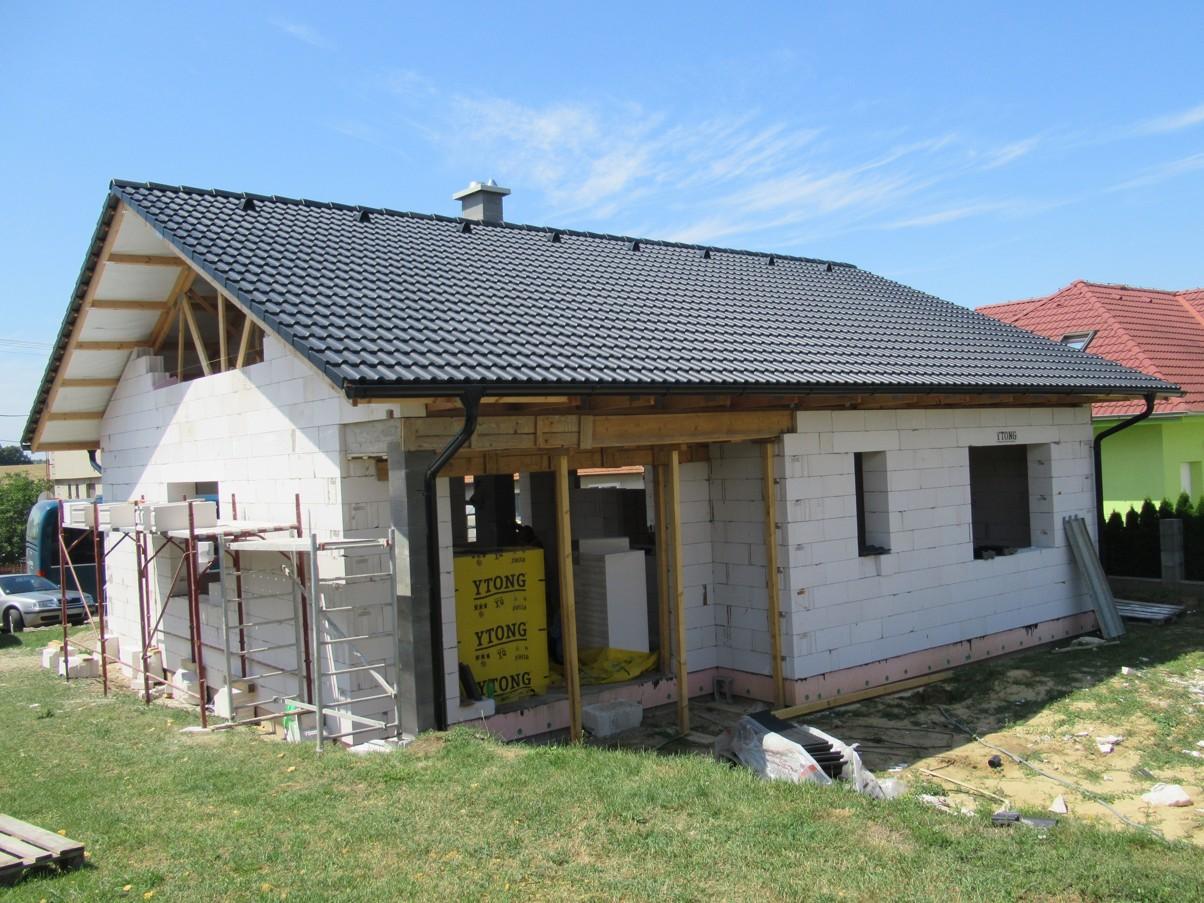 Väzníková strecha na kľúč s krytinou Bramac Klasik Protector Melek okr. Nitra - Obrázok č. 4
