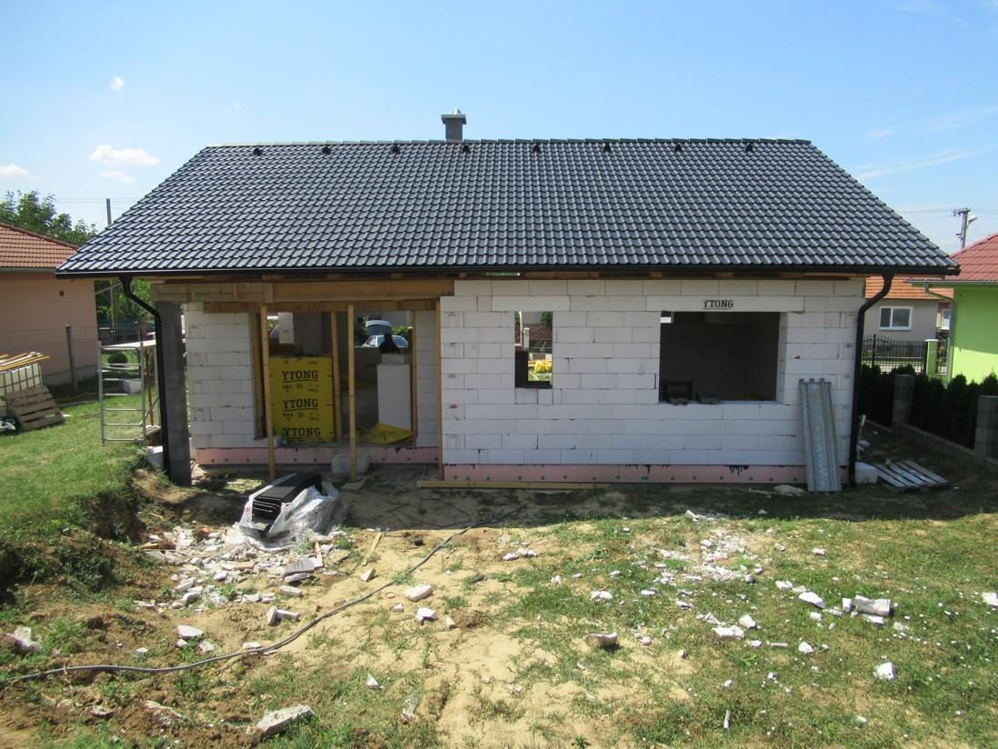 Väzníková strecha na kľúč s krytinou Bramac Klasik Protector Melek okr. Nitra - Obrázok č. 5