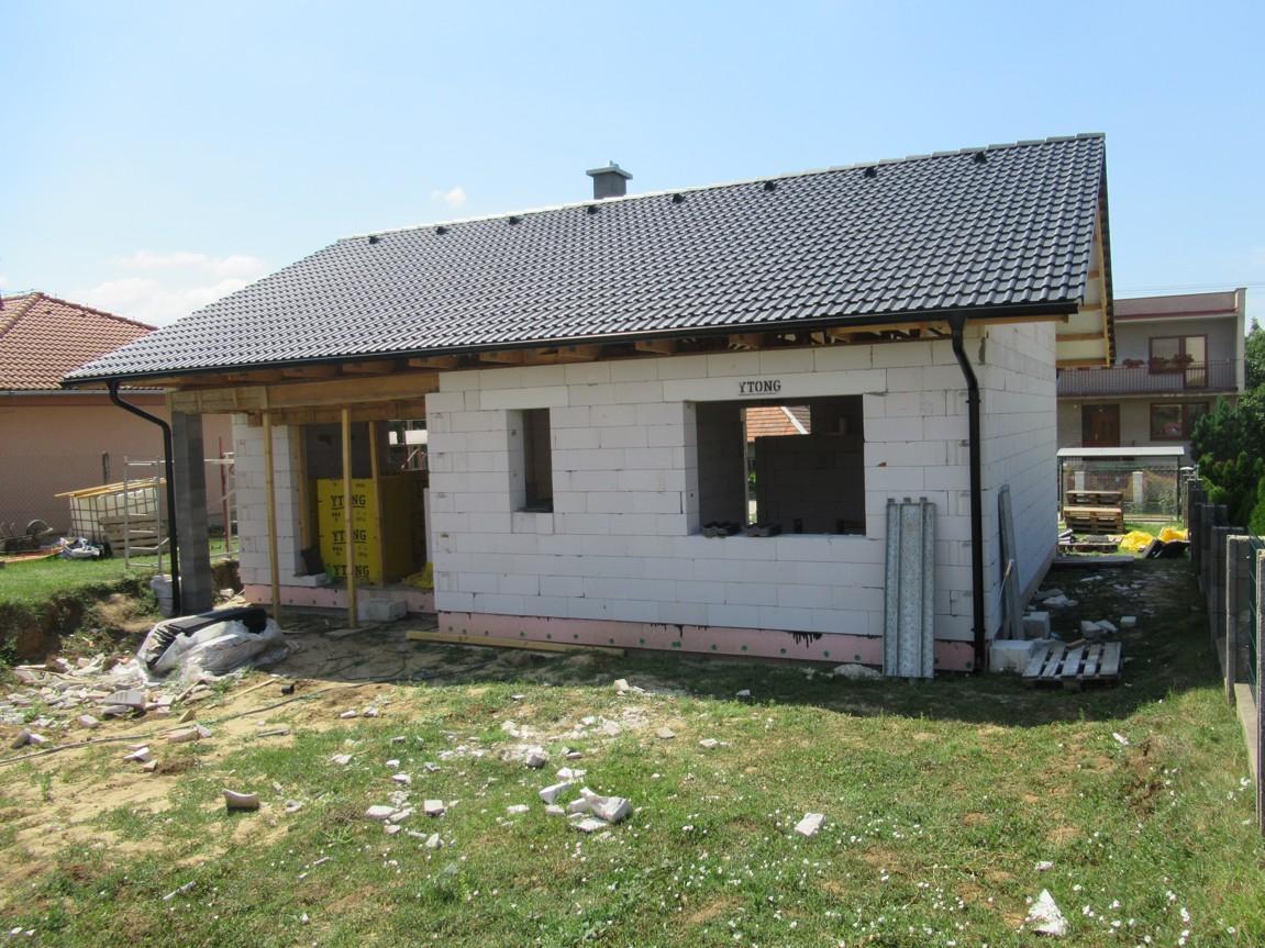 Väzníková strecha na kľúč s krytinou Bramac Klasik Protector Melek okr. Nitra - Obrázok č. 6