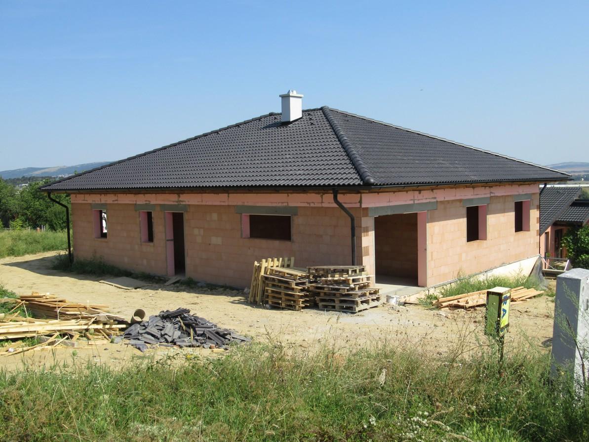 Väzníková strecha na kľúč s krytinou Terran Danubia EVO Carbon Horné Krškany okr. Nitra - Obrázok č. 2