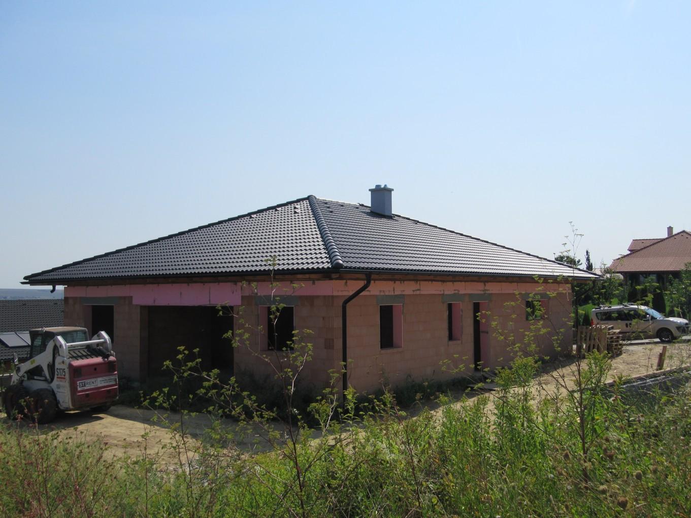 Väzníková strecha na kľúč s krytinou Terran Danubia EVO Carbon Horné Krškany okr. Nitra - Obrázok č. 4