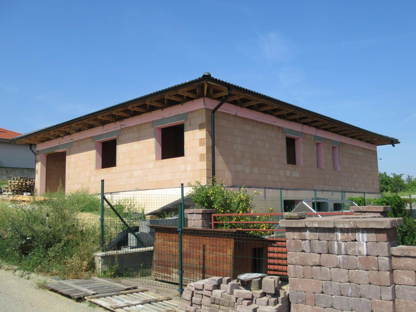 Väzníková strecha na kľúč s krytinou Terran Danubia EVO Carbon Horné Krškany okr. Nitra - Obrázok č. 7