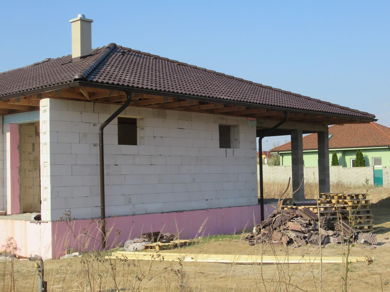 Väzníková strecha na kľúč s krytinou Terran Danubia EVO Mocca Kynek okr. Nitra - Obrázok č. 3