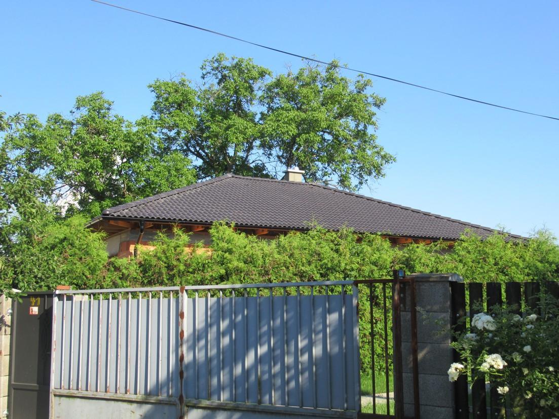 Väzníková strecha na kľúč s krytinou Terran Danubia EVO Carbon Šahy - Obrázok č. 3