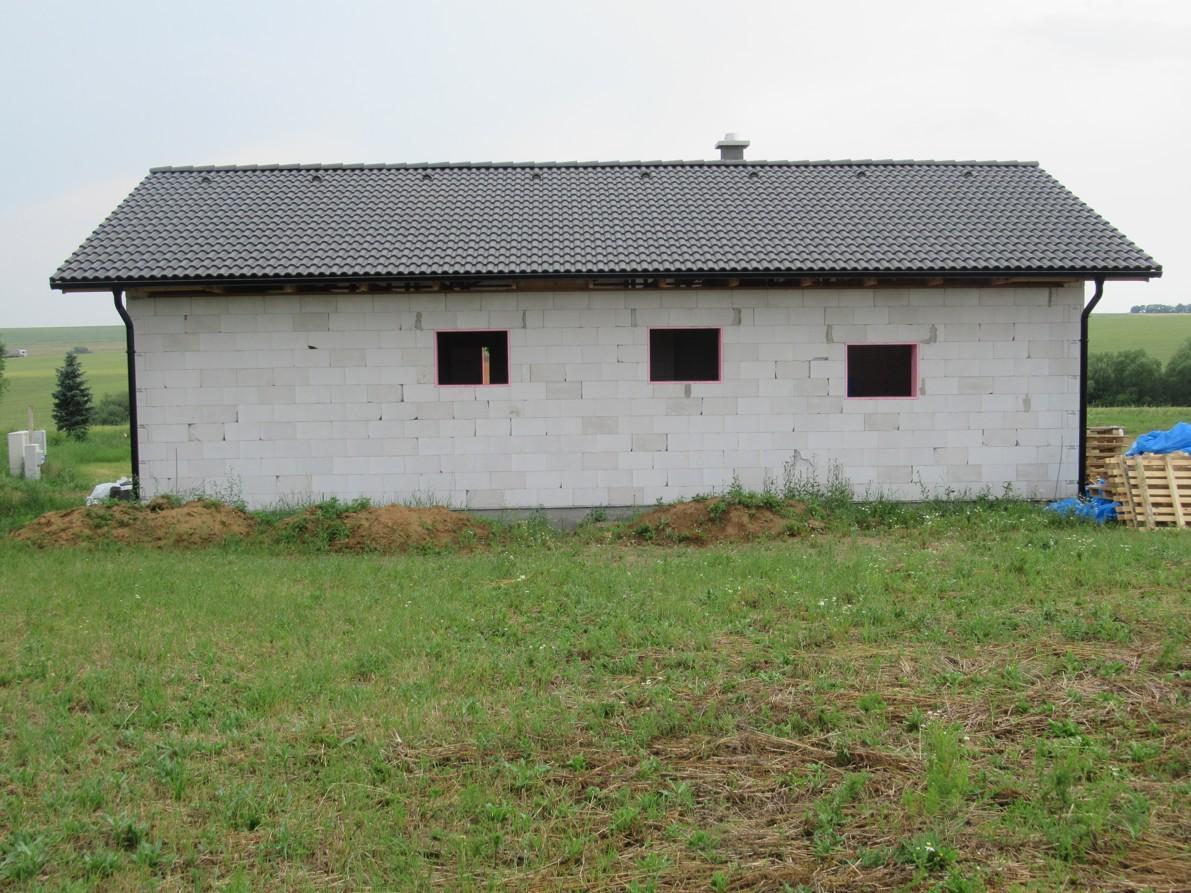 Väzníková strecha na kľúč s krytinou Terran Danubia Colorsystém Antracit Klasov okr. Nitra - Obrázok č. 3