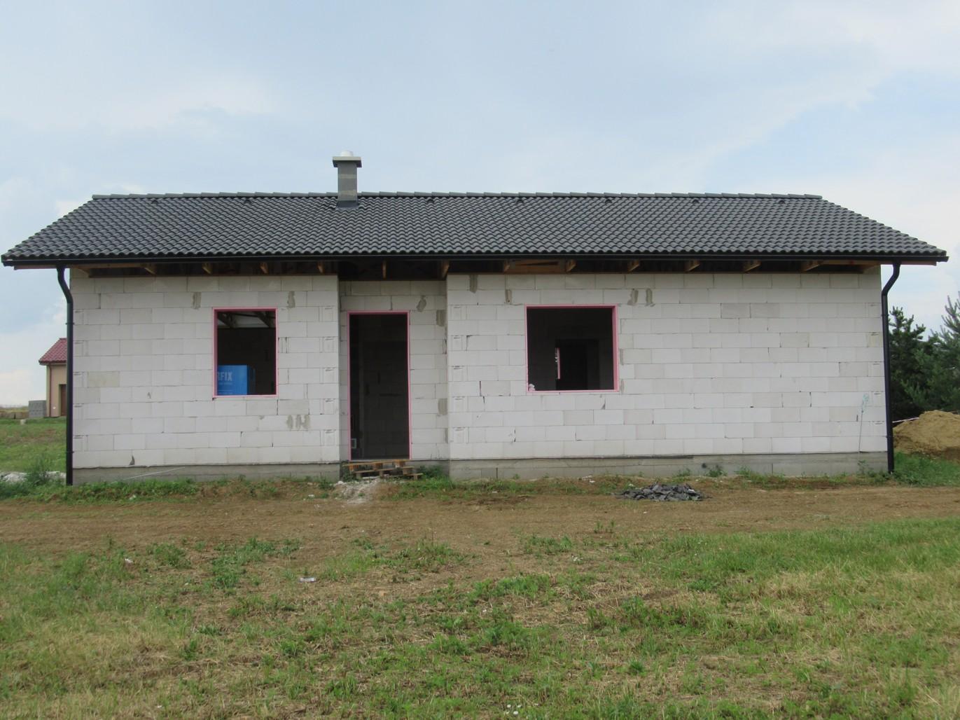 Väzníková strecha na kľúč s krytinou Terran Danubia Colorsystém Antracit Klasov okr. Nitra - Obrázok č. 6