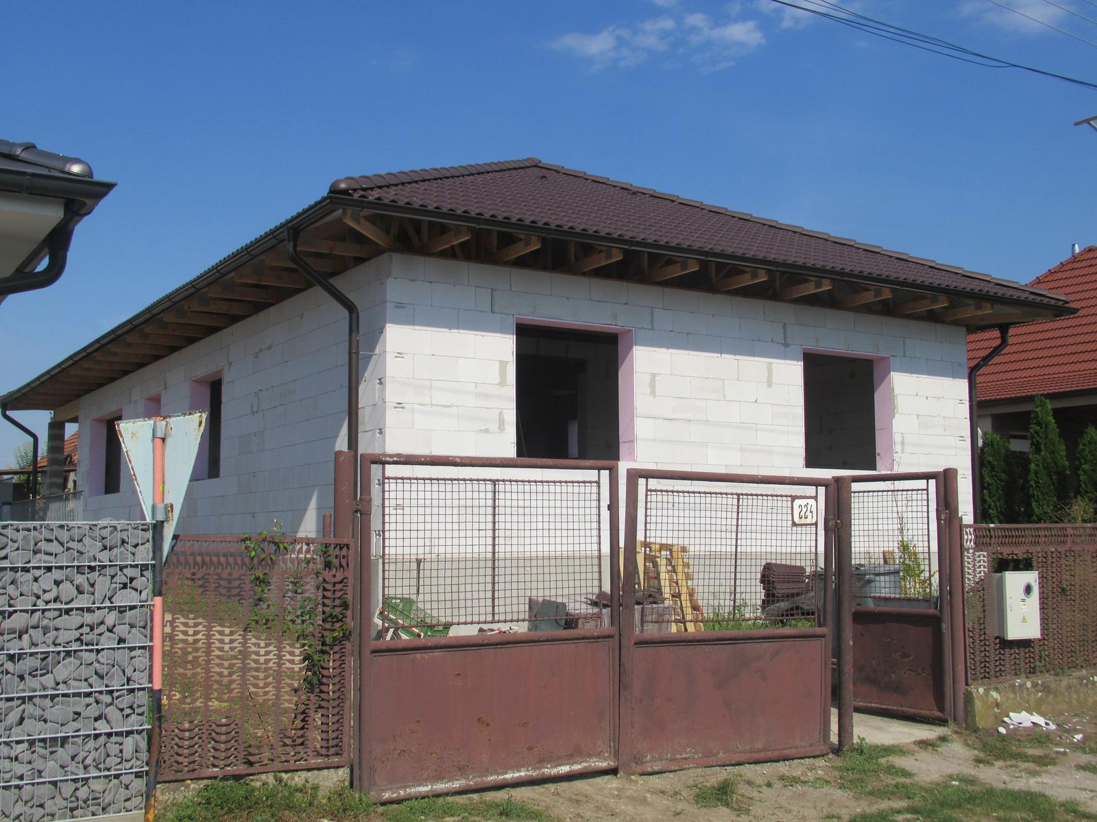 Väzníková strecha na kľúč s krytinou Terran Danubia EVO Mocca Kmeťovo okr. Nové Zámky - Obrázok č. 2