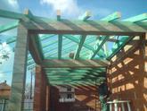 Krov s dreveným stropom Imeľ