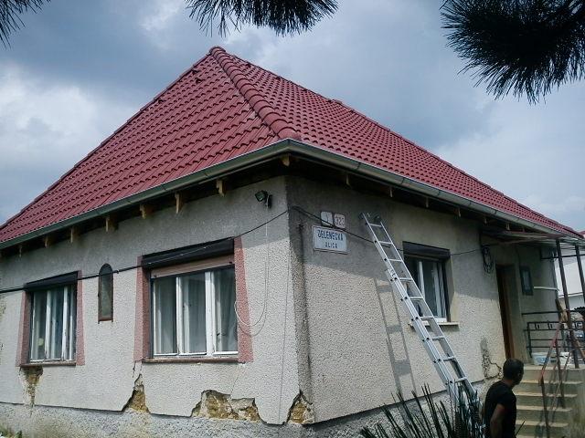 suffo - Rekonštrukcia strechy s krytinou Mediterrán Danubia Štitáre okr. Nitra
