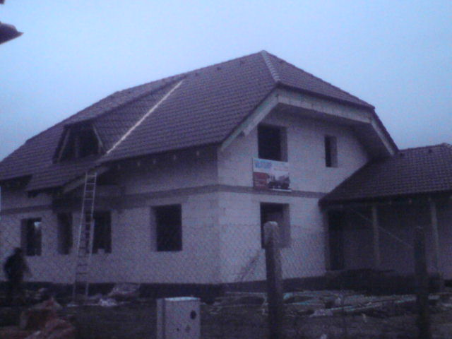 suffo - Strecha s krytinou Bramac na Ytong systém Nové Zámky