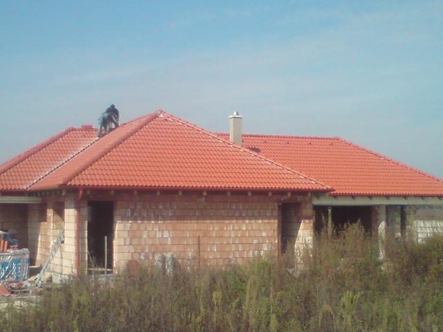 suffo - Strecha Nové Zámky s krytinou Mediterrán Danubia